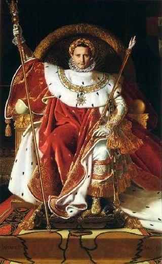 Le tableau de l'Empereur que je préfère. Ingres_napoleon