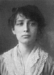 Photo de Camille Claudel, 20 ans, très belle, regard farouche