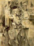 Portrait de Wilhelm Uhde par Picasso, style cubiste