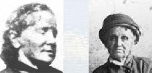 Photos de Séraphine Louis et de Camille Claudel